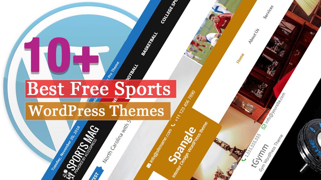 Los mejores temas de WordPress para deportes gratuitos