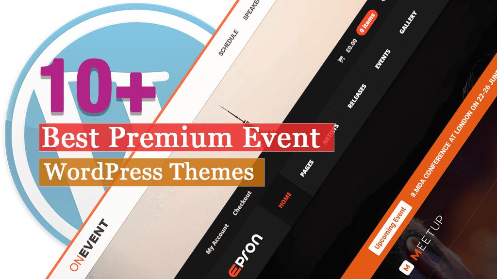 Los mejores temas de WordPress para eventos premium