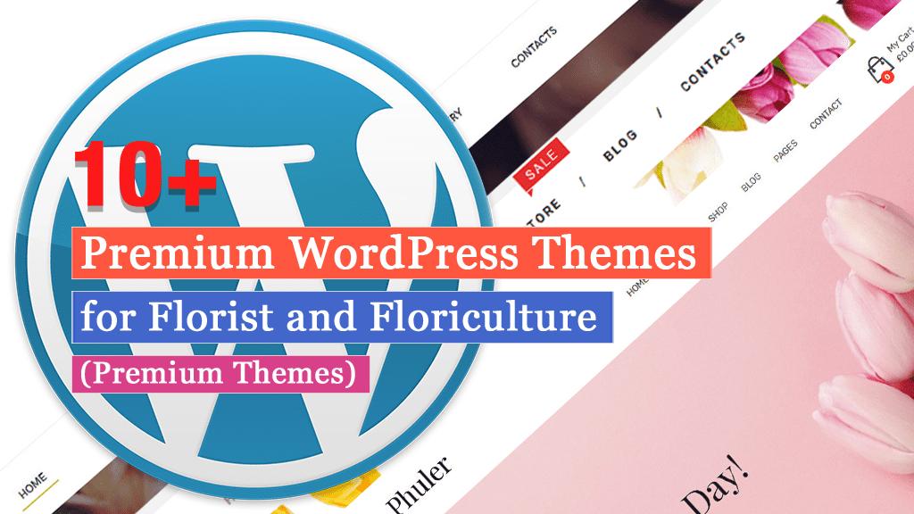 Más de 10 mejores temas de WordPress para floristería y floricultura (temas premium)