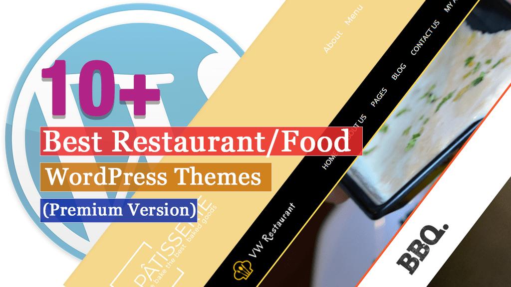 Los mejores temas de WordPress de comida premium para restaurantes