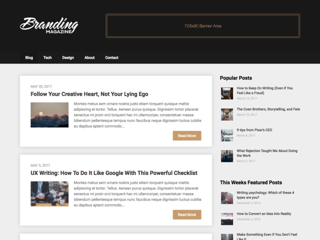 Revista publicable: recomendada para sitios web de reseñas