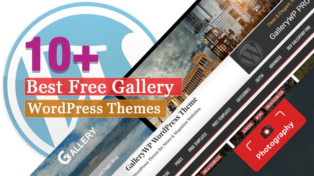 Los mejores temas gratuitos de WordPress para la galería