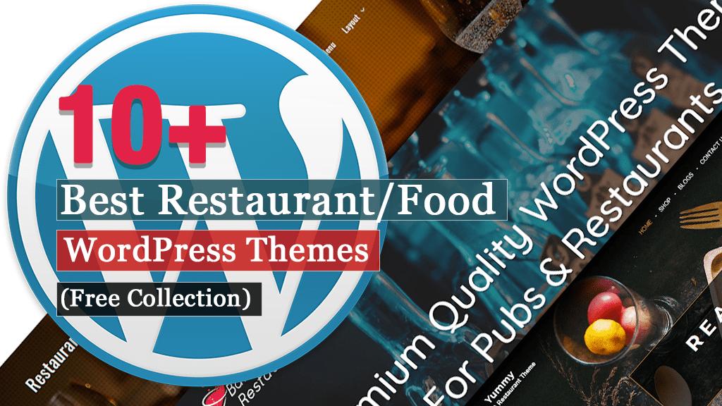 Los mejores temas gratuitos de WordPress para restaurantes / alimentos