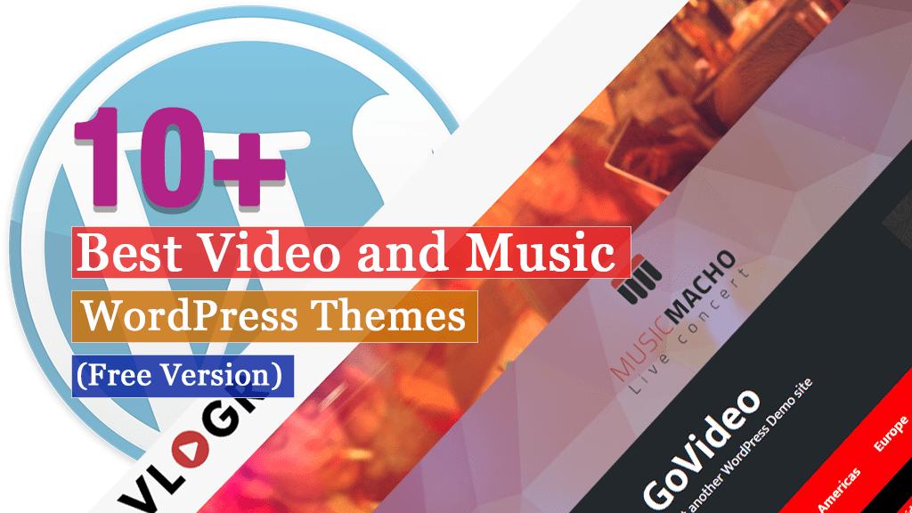 Los mejores temas gratuitos de WordPress para videos y música