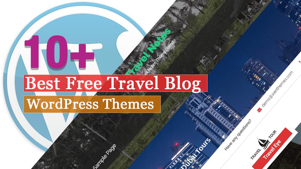 Los mejores temas gratuitos para blogs de viajes de WordPress