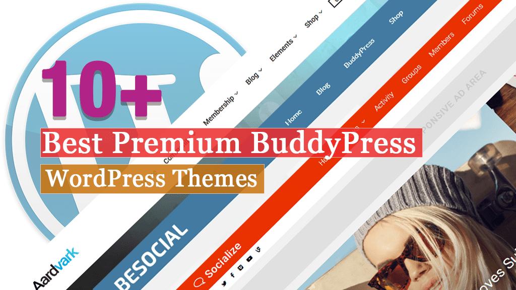 Los mejores temas premium de WordPress de BuddyPress