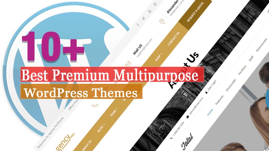 Los mejores temas premium de WordPress multipropósito