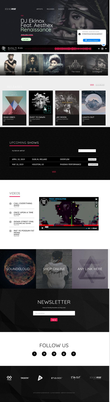 SoundRise: el mejor tema premium de WordPress para videos y música