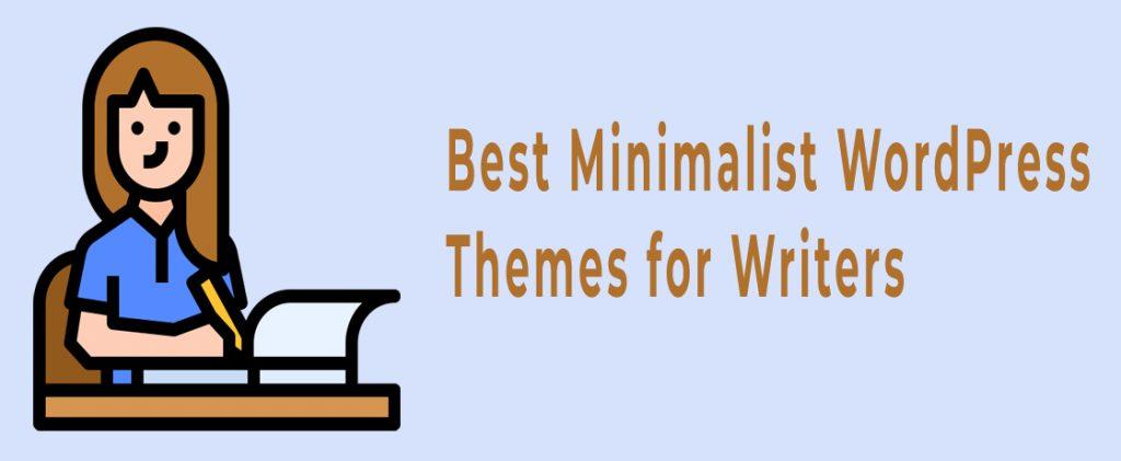 El mejor tema minimalista de WordPress para escritores