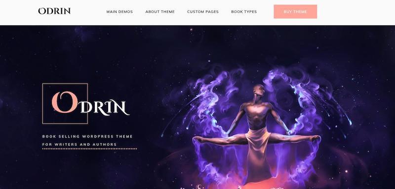 Tema de WordPress de Odrin