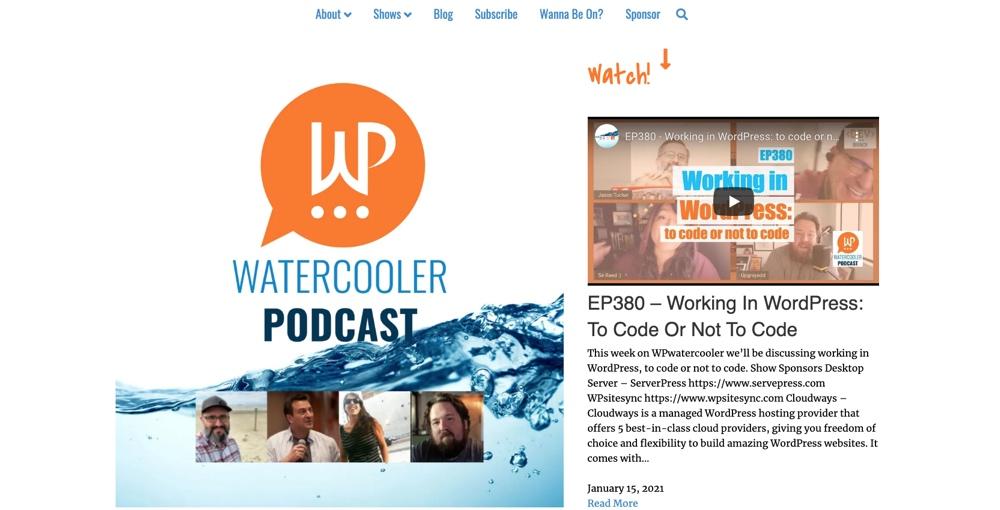 Podcast de WP WaterCooler