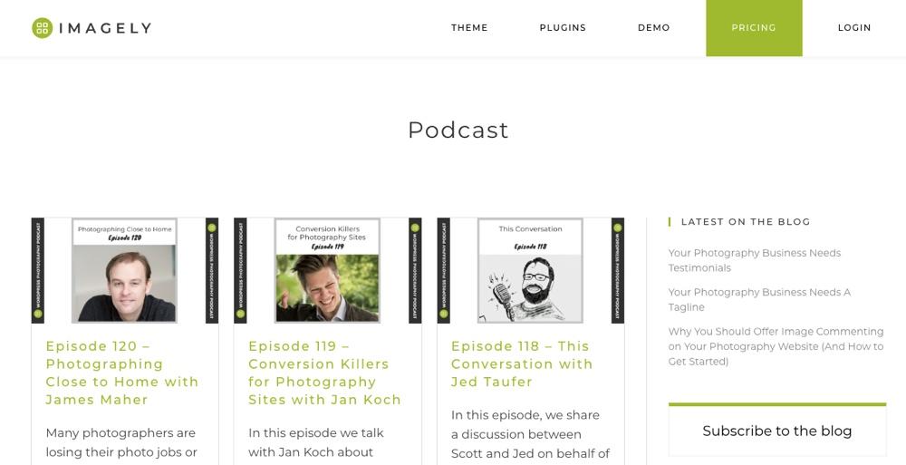 Podcast de Imagely