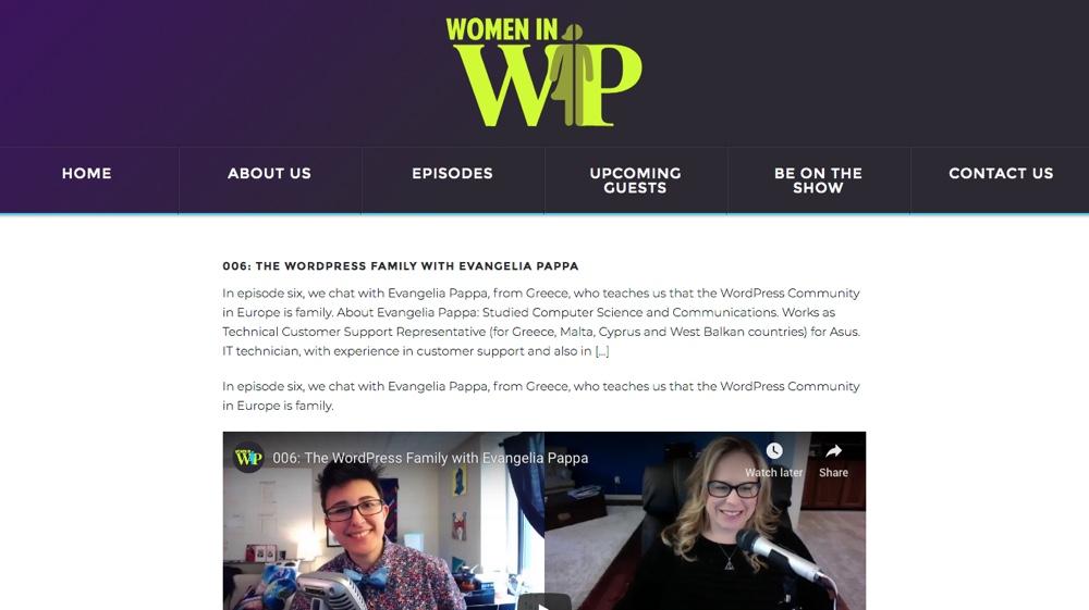 Mujeres en WP