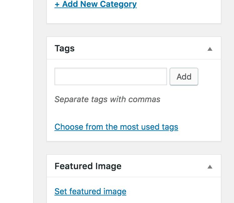 Etiquetas de publicación Editor clásico