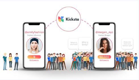 como funciona Kicksta