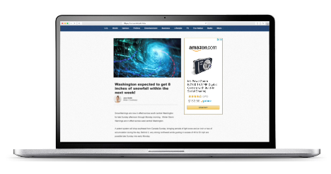 vendiendo en pantallas patrocinadas por amazon imagen