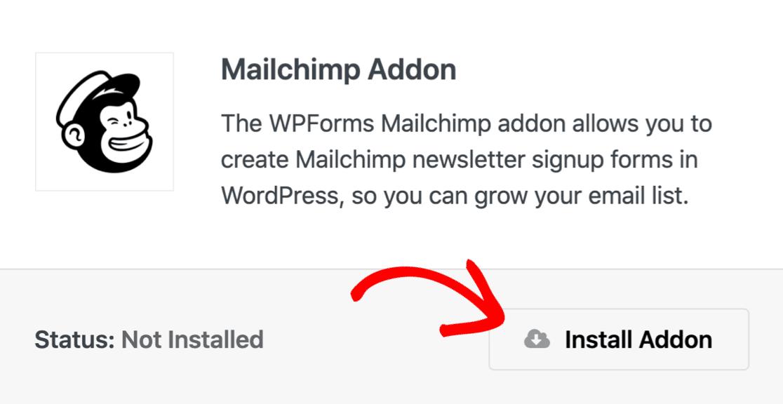 Complemento de Mailchimp