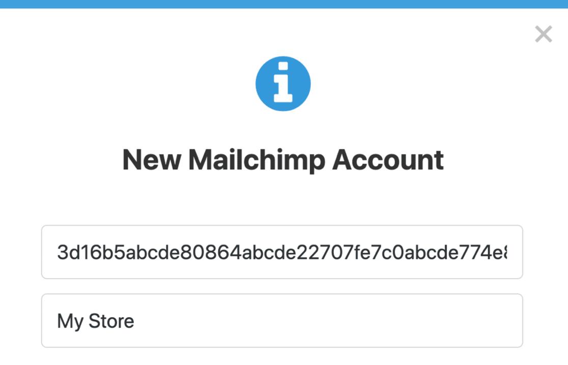 API de Mailchimp