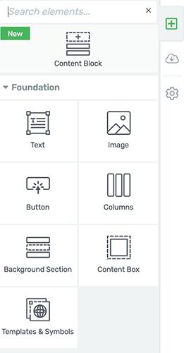 Haga clic en el icono más