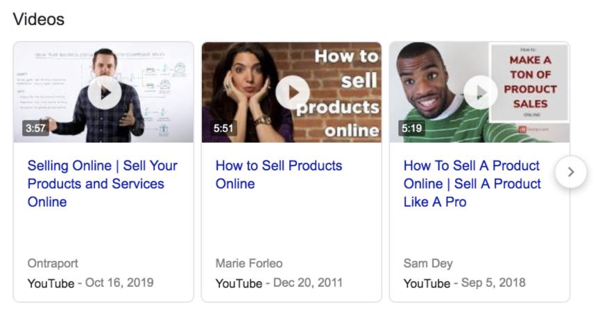 cómo vender productos en línea