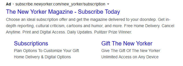 Imagen de anuncios basados en texto de Google Ads
