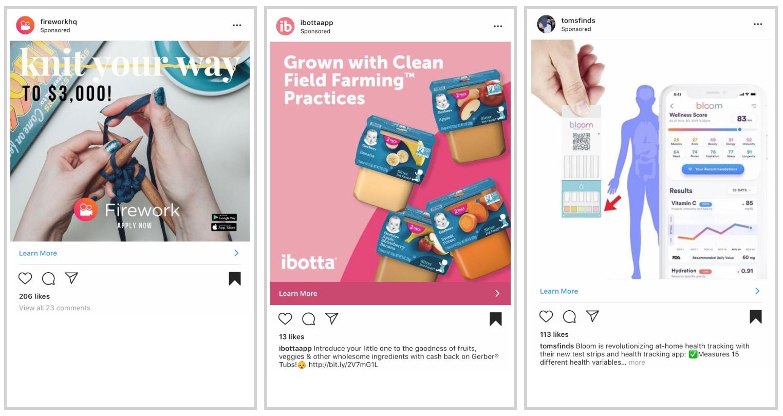 Impulse las ventas con la imagen de Instagram de PPC y Social Media Ads