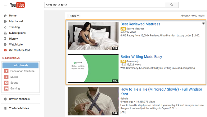 Impulse las ventas con la imagen de youtube de anuncios de redes sociales y PPC