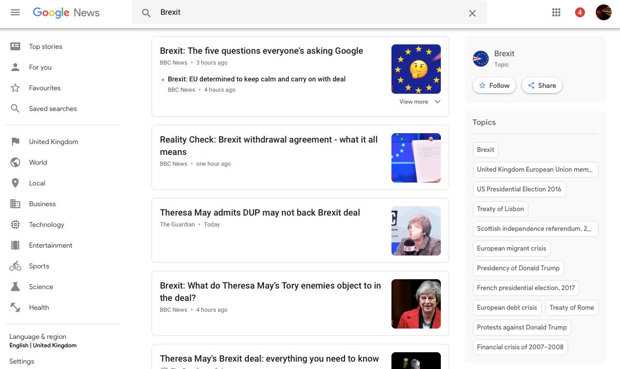 resultados de noticias de google