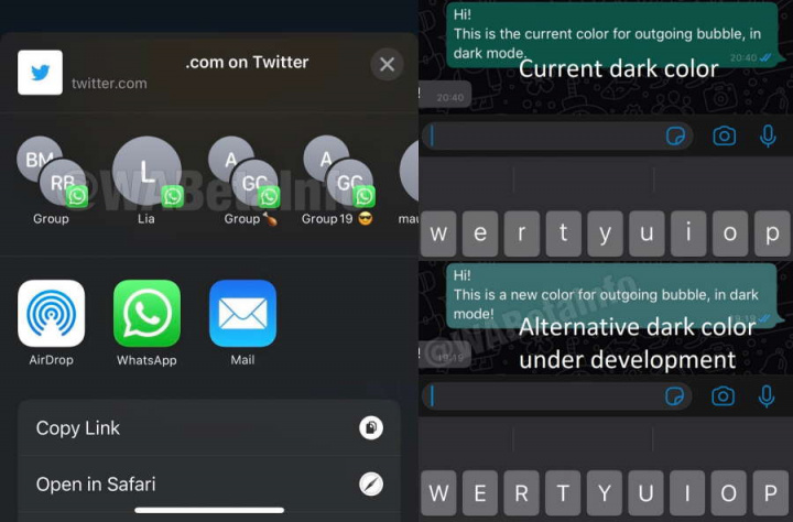 Pruebas de WhatsApp News para Android e iOS