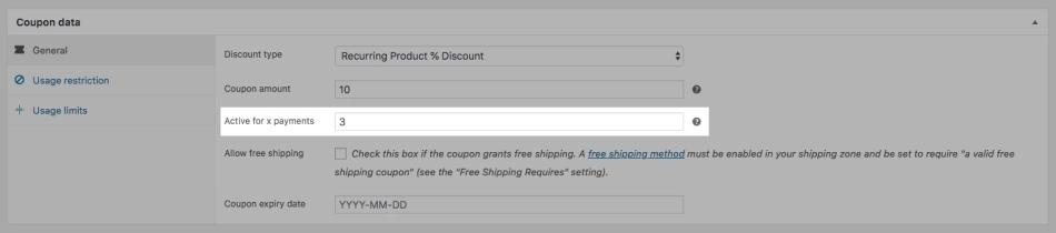Códigos de suscripción en las suscripciones de WooCommerce