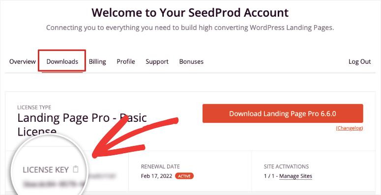 licencia y descarga de seedprod