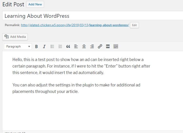 Preparar publicaciones de blog