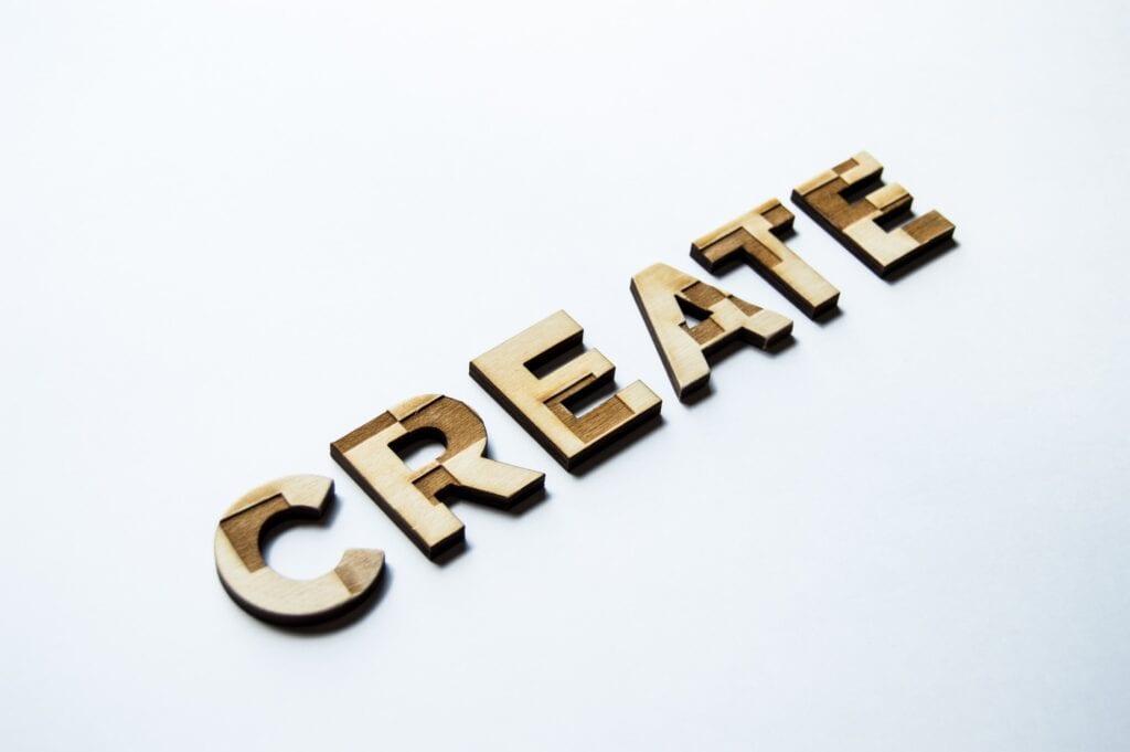 crear tipografía