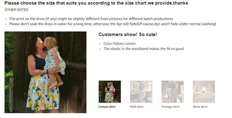 Ejemplo de captura de pantalla de cómo agregar imágenes de clientes reales para alentar a los compradores a realizar compras