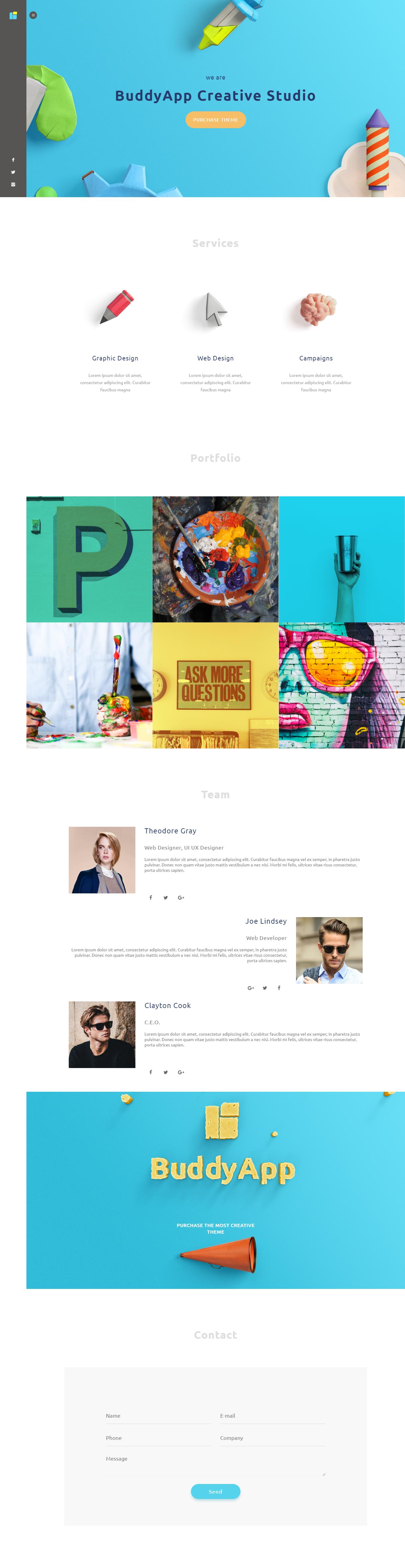 BuddyAApp - Mejor tema de WordPress para aplicaciones móviles premium