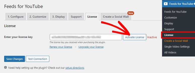 Activar licencia