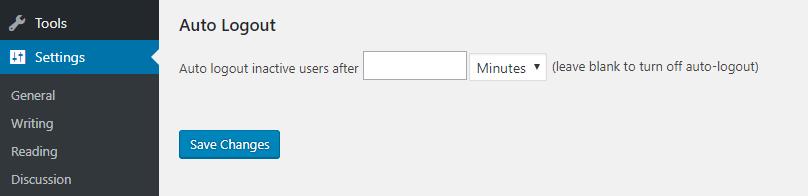 Cierre de sesión automático de intranet todo en uno