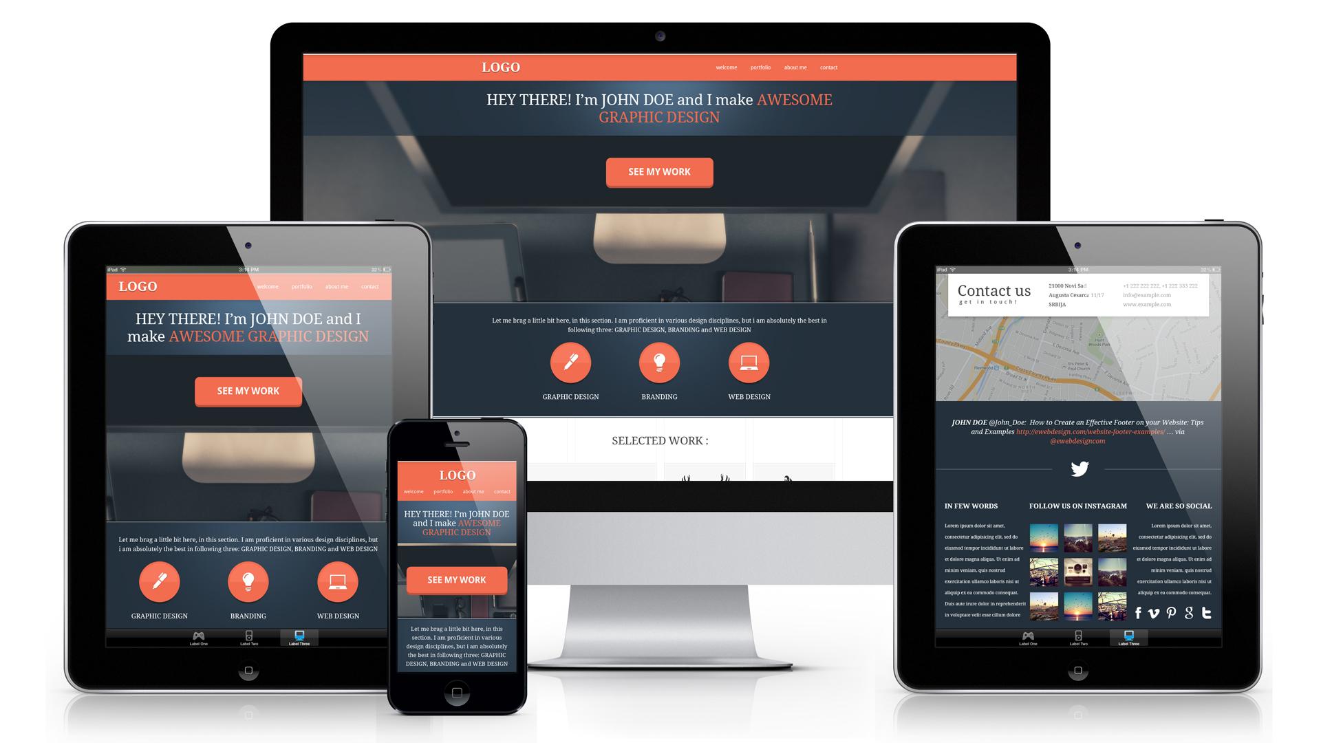 El diseño web receptivo está aquí
