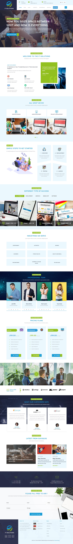 Advance IT Company: el mejor tema gratuito de WordPress para aplicaciones móviles