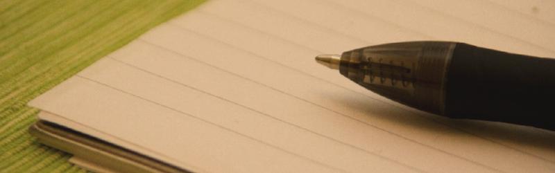 Solo escribiendo