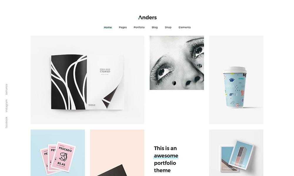 Tema de cartera multipunto de Anders Clean