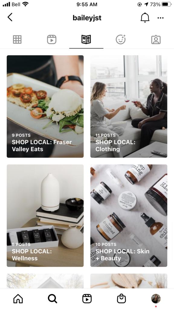 7 formas creativas en las que las marcas pueden usar la guía de Instagram