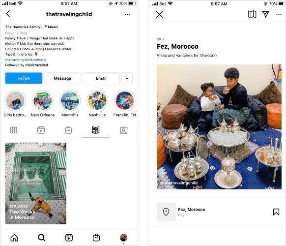 7 formas creativas en las que las marcas pueden usar las guías de Instagram