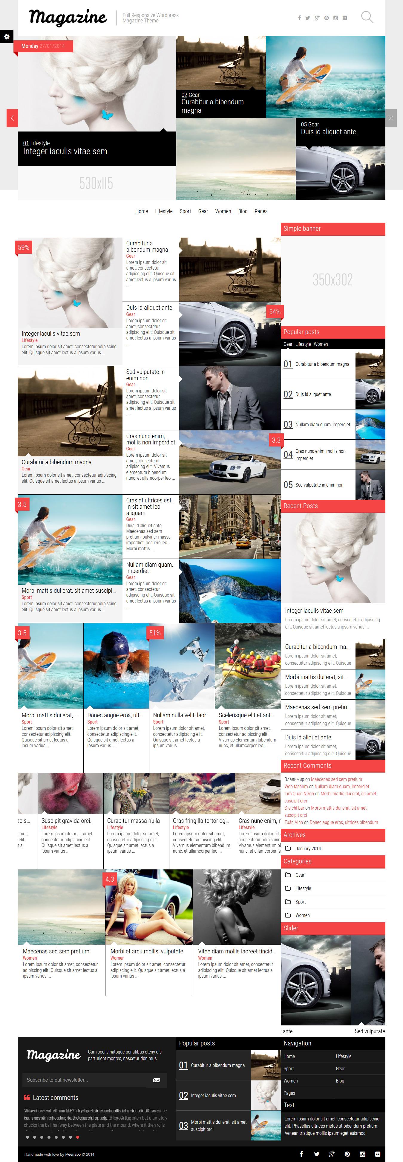 Revista-NoticiasBlogReview Theme