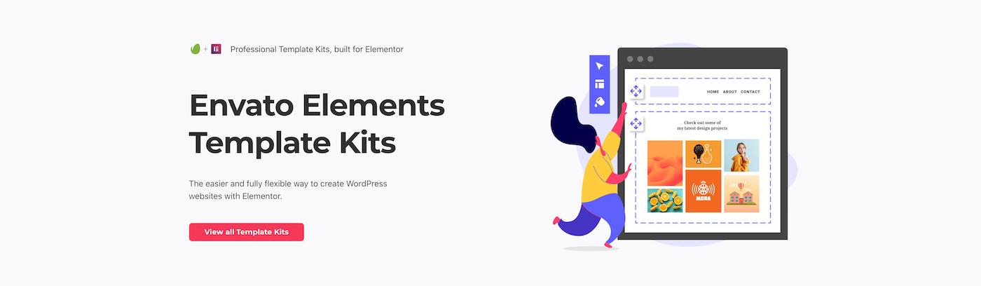 Kits de Elementor de Envato Elements
