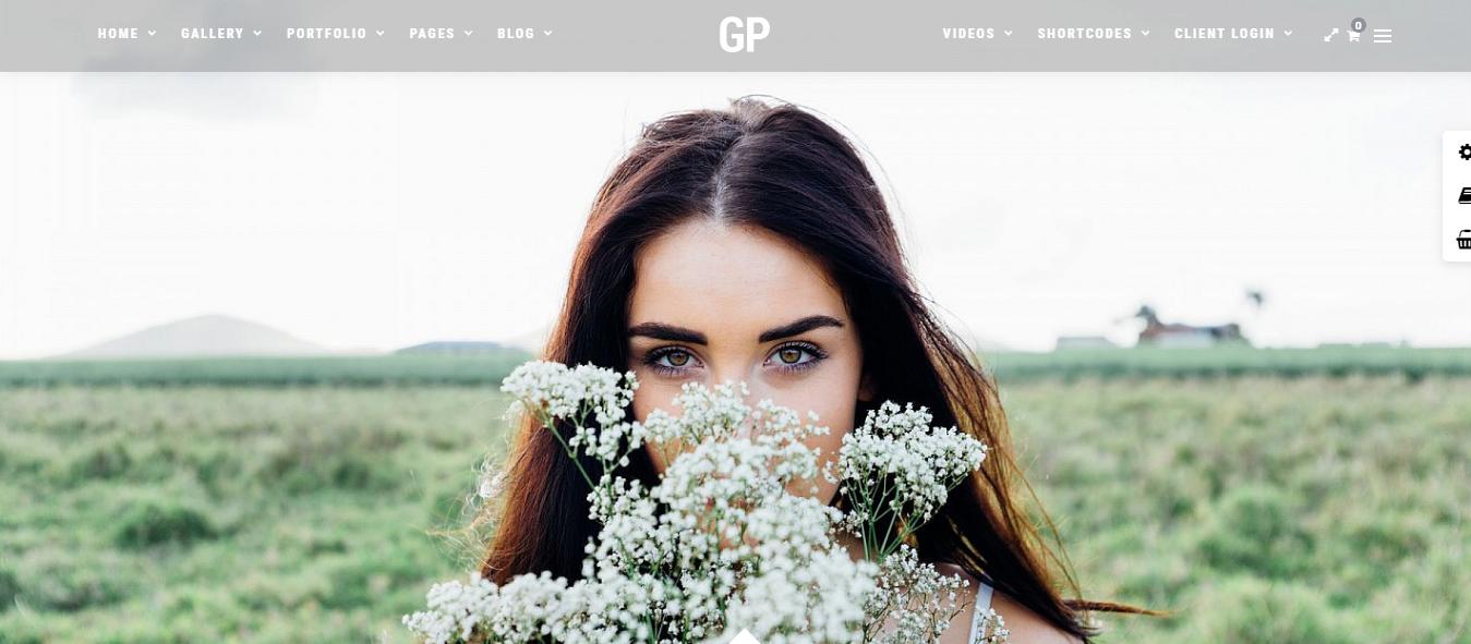 Grand Photography - Mejor tema de WordPress para fotografía de productos premium