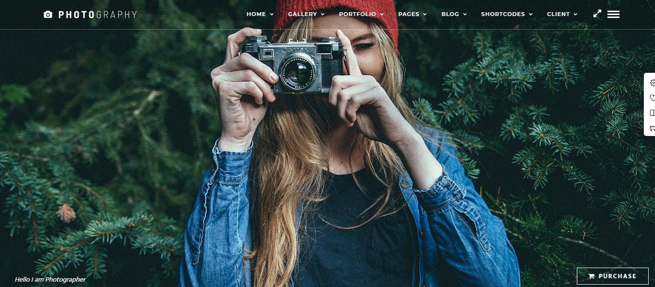Fotografía - Mejor tema de WordPress para fotografía de productos premium