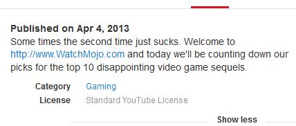 Descripción breve de YouTube