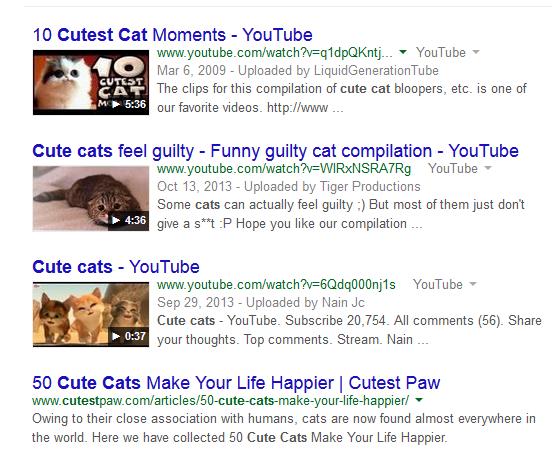 Resultados de videos de gatos lindos