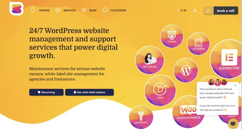 Genial soporte de WordPress Australia